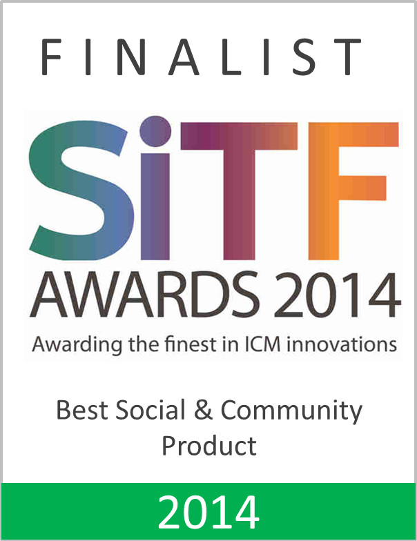 Best Social and Community Product Award 2014