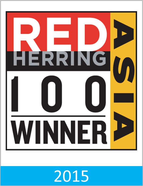 Red Herring Asia 100 Winner Award 2015