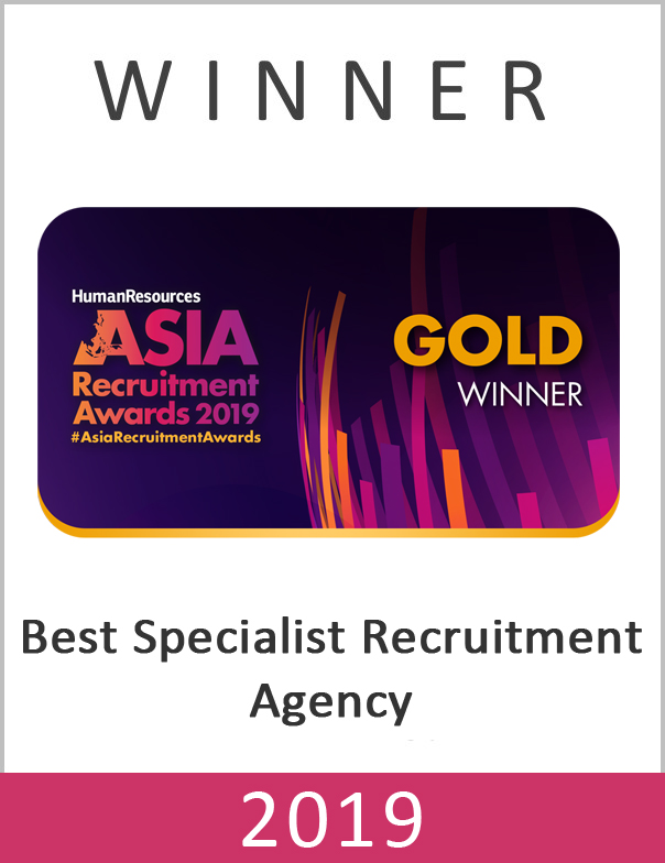 Best Specialist Recruitment Agency Award 2019