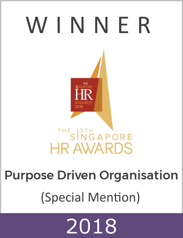 Purpose Driven Organisation Award 2018