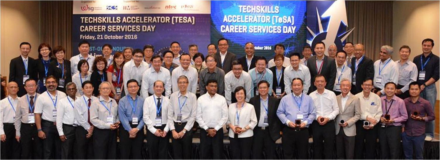 Techskills accelerator (TESA) Career Services Day 2016